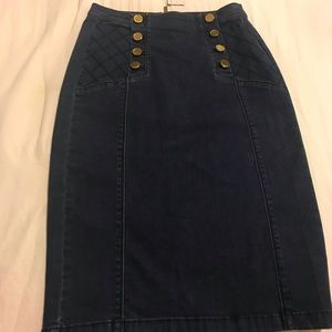Bebé Jean skirt new